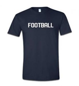 FOOTBALL T-SHIRT from $28.00